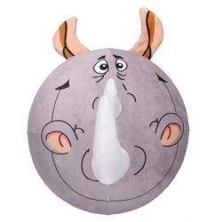 Plyšová nafukovacia lopta Nosorožec 30cm
