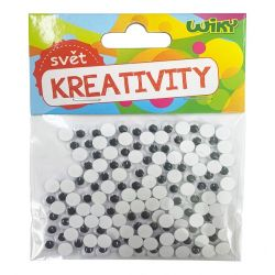 Kreativity Pohyblivé oči7mm/150ks