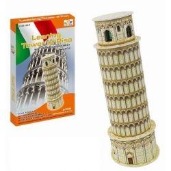 Puzzle 3D Šikmá veža v Pise
