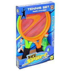 Tenis plážový s košíkom a loptičkou