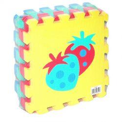 Mäkké puzzle bloky ovocie 30cm