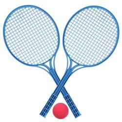 Soft tenis farebný 1 loptička