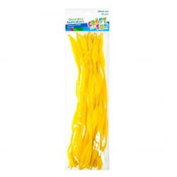 Drôtik dekoračný žltý