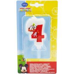 Sviečka Mickey č.4