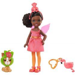 Mattel Barbie Chelsea v kostýme Plameniak