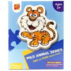 Puzzle detské Zvieratká 16-dielikov