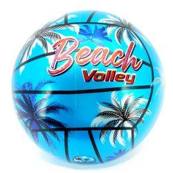 Volejbalová plážová lopta Beach Volley 2farby 21cm - modrá