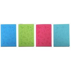Linajkový notes 100str. 15x21cm - modrá