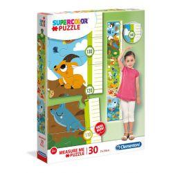 Clementoni Puzzle Meter 30 Zvieratká