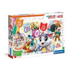 Clementoni Puzzle 40 Maxi 44 Mačiek