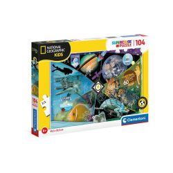 Clementoni Puzzle 104 National Geographic Kids