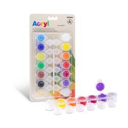 Milan Akrylové farby 14x4,5ml