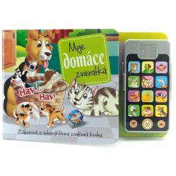 Interaktívna knižka Moje domáce zvieratká so zvukmi