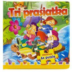 Puzzle kniha Tri prasiatka