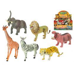 Zvieratká safari 6 ks - žirafa
