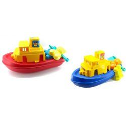Detská loď s formičkami 45cm - modrá