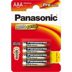 Batéria PANASONIC Pro Power alkalické batérie LR03 AAA