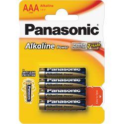 Batéria PANASONIC Alkaline Power AAA 4ks