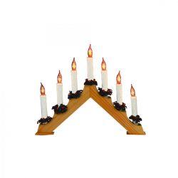 Somogyi Svietnik pyramída, drevo, 7 žiaroviek