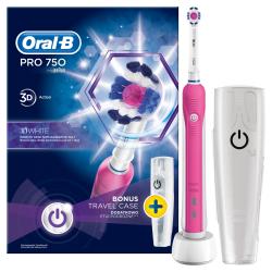 Oral B Pro 750 D16.513.UX 3D White zubná kefka